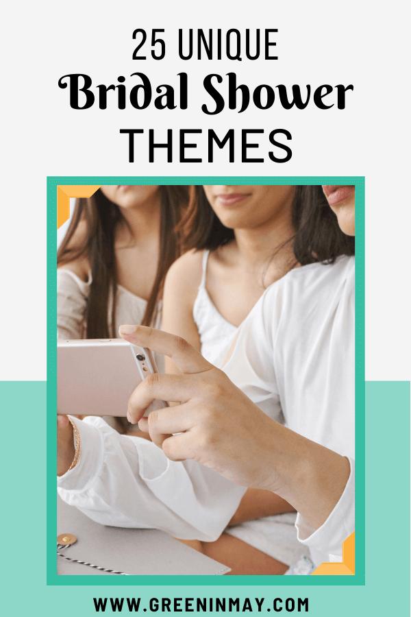 25 unique bridal shower themes