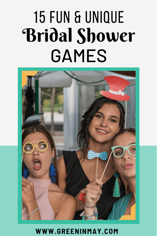 fun and unique bridal shower games